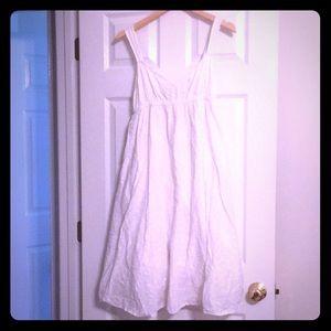 100% white cotton Calvin Klein Jeans dress 👗